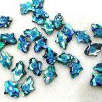 12pcs Hamsa Abalone Cabochon 12x18mm Paua Shell beads – <b>Jewelry</b> <b>Supplies</b> – Abalone evil Eyes hand <b>jewelry</b>