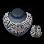 LAN PALACE turkish <b>jewelry</b> sets bridal <b>necklace</b> and earrings austrian crystal <b>necklace</b> african <b>jewelry</b> set free shipping