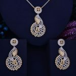 GODKI 68mm Hollow Flower Leaf Luxury 2 Tone Women Wedding Naija Bridal Cubic Zirconia <b>Necklace</b> Earring Dubai Dress <b>Jewelry</b> Set