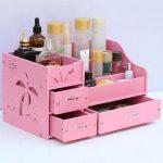 <b>Fashion</b> large drawer type cosmetics storage box desktop finishing box dressing box <b>jewelry</b> box