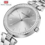 MINIFOCUS Luxury Brand Women Watch Fashion Casual Gold <b>Silver</b> Ladies Watch Quartz Simple Relogio Feminino Reloj Mujer Montre