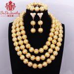 2017 Gold Layered Necklace Ethnic Antique <b>Jewelry</b> Set Brand <b>Supplies</b> Store Nigerian African Wedding Beads Dubai <b>Jewelry</b> Sets