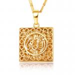 New Classic 18K <b>Jewelry</b> Necklace Pendants Charm Women Party Gifts Fitting <b>Supply</b> Fine <b>Jewelry</b> Packaging