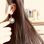 India Retro Mandala Earrings Handmade <b>Antique</b> Silver Tribal <b>Jewelry</b> BOHO Hippie Wind Pakistani Muslim Thailand Nepal