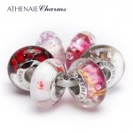 ATHENAIE 925 Sterling <b>Silver</b> Core Full of Gorgeous Charm Beads Kits Fit For European <b>Bracelets</b> and Necklaces