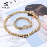 Cool African Chain <b>Jewelry</b> Set Luxury Gold Color 40cm Necklace & Bracelet Sets Clear Rhinestone <b>Jewelry</b> Set Men Hip Hop <b>Jewelry</b>
