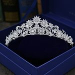 Full Cubic Zircon Tiara Paved CZ Crown Tiaras Diadema <b>Wedding</b> Hair Accessories Bride Hair <b>Jewelry</b> Bijoux Cheveux Coroa WIGO1068