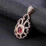 Handmade large silver pendants round filigree flower crystal pendants for pearls <b>jewelry</b> <b>making</b> Top quality embellishments gift