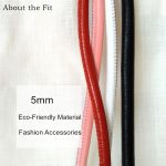 5mm 2M/Roll Stitched Lamb Leather Cord With Cotton Core Sutural Sheepskin Real Leather Rope For Bracelet Necklace <b>Jewelry</b> <b>Making</b>