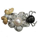 top quality DIY <b>jewelry</b> findings lock clasps bee spider flower connectors for necklace single or multi layers <b>fashion</b> <b>jewelry</b>
