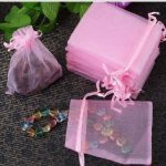 100 Pcs Organza Wedding Favour Bags <b>Jewellery</b> Pouches Birthday Candy Gifts Bags for wedding party birthday party <b>decorations</b>