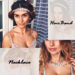 TrinketSea Vintage Luxury Flower Elastic Headband for Women Wedding Hair Accessories <b>Fashion</b> <b>Jewelry</b> Beauty Hair Headband