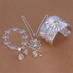 Wholesale <b>Fashion</b> <b>Jewelry</b> Set, 925 Sterling silver Necklace and Bracelet/Earrings rings Set . Nice <b>Jewelry</b>. Good S0125