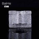 BAIHE <b>Sterling</b> <b>Silver</b> 925 1.2T Certified H/SI3 Round Cut 100% Genuine Natural Diamonds Engagement Men Trendy Fine Jewelry <b>Ring</b>