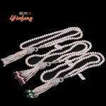 [MeiBaPJ]100% Real Freshwater Pearl Leopard head Necklace Wedding <b>Jewelry</b> Bohemia style long sweater Necklace <b>Handmade</b> <b>Jewelry</b>