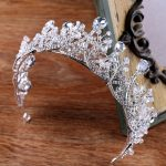KMVEXO 2018 Newest Crystal Tiara Crown Women Hair <b>Jewelry</b> Rhinestones Pageant Pom Crown Hairwear Bride Wedding Hair Accessories