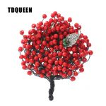 TDQUEEN Luxury Wedding Brooch Red Crystal Beads Pin <b>Jewelry</b> <b>Handmade</b> Crystal Brooch Bouquet Trendy Women Hijab Pins and Brooches