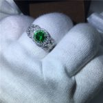<b>Handmade</b> Flower style 100% Real 925 Sterling Silve ring 5A zircon Stone cz Engagement Wedding Band Ring for women men <b>Jewelry</b>