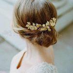 Handmade Gold Flower Leaf Tiara Wedding Hair Vine Accessories <b>Jewelry</b> Bridal Headpiece Vintage Hair Accessories For Weddings