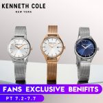 Kenneth Cole Womens Watches KC10030840 Gold <b>Silver</b> <b>Bracelet</b> Simple Quartz Stainless Steel Waterproof Luxury Brand Watches