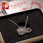 Anime Infinite Ssangyong Infinite Ouroboros 925 Sterling <b>Silver</b> Necklace Toma <b>Silver</b> Pendant Ouroboros Symbol Jewelry <b>Bracelet</b>