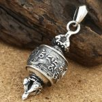 free shipping miao Sterling <b>Silver</b> Soldier Vintage Whistle Design fish Mythical Animals elephant Skull Pendant statue <b>necklace</b>