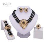 Fani Dubai Gold-color <b>jewelry</b> Crystal nigerian Wedding Women Bridal Accessories Fashion African Beads <b>Jewelry</b> Set Costume Design