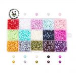 4/6/8/10mm ABS Acrylic Cabochons for <b>Jewelry</b> <b>Making</b> DIY Material Garment Decoration Art Imitation Pearl Half Round, Mixed Color