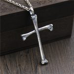 C&R Real 925 Sterling <b>Silver</b> <b>Necklace</b> Skull Bone Cross personalized pendants men and women Thai <b>Silver</b> Vintage Fine Jewelry