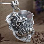FNJ 925 Silver Pixiu Pendant 100% Pure S925 Solid Thai Silver Animal Pendants for Women Men <b>Jewelry</b> <b>Making</b>