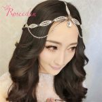 <b>Fashion</b> elegant Korean style hight quality Women hair tiaras Crown wedding dresses <b>Jewelry</b> Head Hair band for Bridal RE182