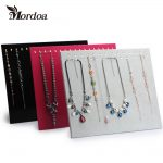 Free Shipping 28 Hook <b>Necklace</b> Pendant Hanger Exhibition Plate Fashion <b>Jewelry</b> Display Stand For <b>Jewelry</b> Rack Tray New Arrival