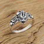 Silver <b>jewelry</b> <b>handmade</b> Thai silver retro Ring Mens Ring s brave personality