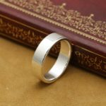 <b>Handmade</b> 999 Silver Ring Real Pure Silver Ring Unisex Silver Ring <b>Jewelry</b> Gift