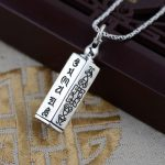 FNJ 925 Silver Buddha Pendant Good Luck Gawu Box 100% Pure S925 Solid Thai Silver Pendants for Women Men <b>Jewelry</b> <b>Making</b>
