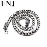 Dragonscale Necklace 925 <b>Sterling</b> <b>Silver</b> Men Big Statment 100% S925 Solid <b>Silver</b> Chain Necklaces Dragon Head <b>Jewelry</b> Making