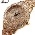 MISSFOX Miss Fox Fashion Ladies Watches Top Brand Luxury Women Watches <b>Silver</b> Waterproof Female Watch Gold <b>Bracelet</b> Clock