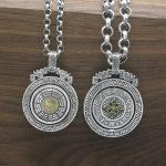 925 Sterling <b>Silver</b> Pendant Yinyang Tai Chi Rotating Personalized Bagua Turning Pendant Necklace Vehicle Hanging <b>Jewelry</b>