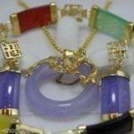 Nobility Lucky stone pendant <b>necklace</b> earring bracelet set Wedding Silver fine <b>jewelry</b> Watch 925 silver wedding <b>jewelry</b>