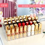 M New arrival <b>fashion</b> lipstick holder Lipsticks organizer 10-36 grids clear acrylic container cosmetics organizer cells C231