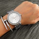 CONTENA Fashion <b>Silver</b> Watch Women Watches Diamond <b>Bracelet</b> Women's Watches Ladies Watch Clock montre femme reloj mujer relogio