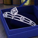 Paved CZ Crown Full Cubic Zircon Tiara Tiaras Diadema <b>Wedding</b> Hair Accessories Bride Hair <b>Jewelry</b> Bijoux Cheveux Coroa WIGO1073