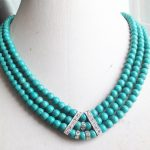 Charms 3 rows 6mm green synthetic calaite stone round beads calaite necklace original diy romantic <b>wedding</b> gift 17-19inch BV390