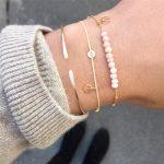 Minimalism Bracelets <b>Handmade</b> Indian <b>jewelry</b> Personalized Gold Filled Customed Presents Tobilleras Pulsera Para Tobillo Bangles