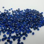 MRHUANG <b>Jewelry</b> <b>Supplies</b> Blue AAA Cubic Zirconia Round Zirconia DIY <b>Jewelry</b> Findings <b>Supplies</b>