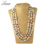 Pearl jewelry,long real natural freshwater pearl <b>necklace</b> wedding women,mother pearl <b>necklace</b> 190cm-200cm girl gifs