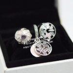 3pcs Fashion S925 Silver Pink Enamel Clip Dangle Charms Beads <b>Jewelry</b> Set Fit Bracelets Necklaces <b>Jewelry</b> <b>Making</b> Woman Gift