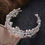 Princess Crown Rhinestone Tiara Noiva Bridal Tiaras And Crowns <b>Wedding</b> Bride Headpiece Crystal Hair <b>Jewelry</b> Diadema