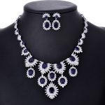 HIBRIDE Luxury Design Multicolor AAA Cubic Zirconia Pendant <b>Necklace</b> Fashion <b>Jewelry</b> Sets For Party Gifts N-115