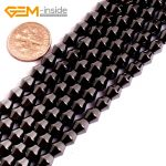Gem-inside Bicone Black Healthing Healthy Magnetic Hematite Beads For <b>Jewelry</b> <b>Making</b> 6X6M 15inches